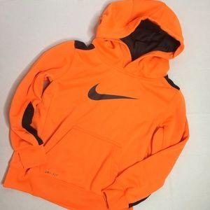 3 for $30 Nike Dri Fit Boys Orange Hoodie